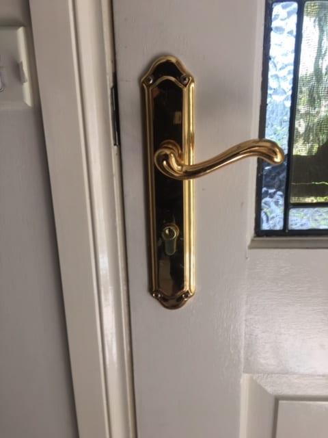 Front Door Lock Diamond Creek