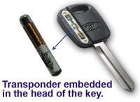 transponder in key